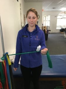 Standing External Rotation with Band for Rotator Cuff Injury