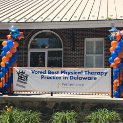 voted Best Physical Therapist Best of Delaware 2017